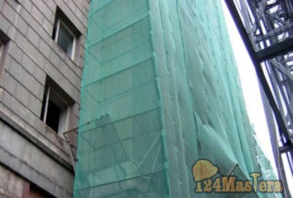 Фасадная строительная сетка необходима