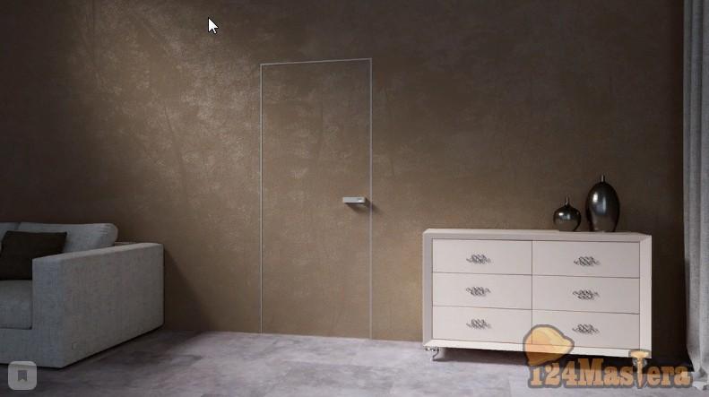 Мода на двери-невидимки или Как создать эффект замкнутого пространства