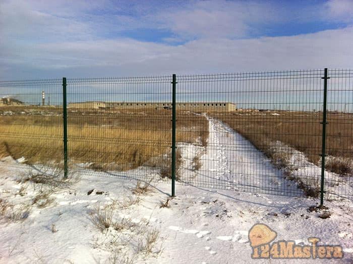 Популярный забор 3D