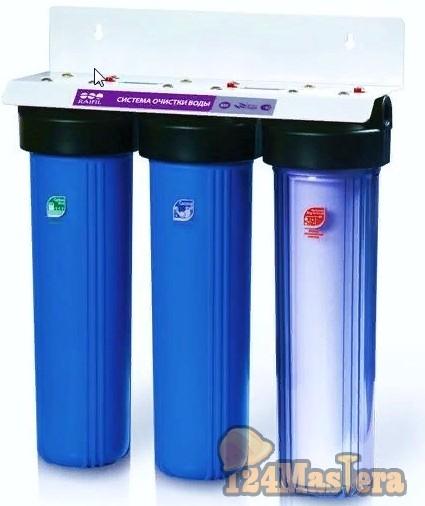 Выбираем магистральный фильтр для очистки воды