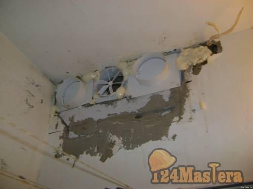 Как правильно установить вытяжной вентилятор