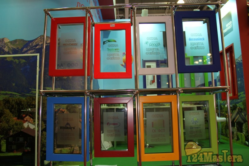 Окна цвета FEYCO - Цветные окна в Красноярске