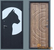 Дверь входная «ФАУНА»   цена 20000 руб.-  полотно 75мм. цельногнутого листа холоднокатано...