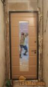 Дверь Эллидж в 5этажке узкий темный коридор, зеркало очень актуально. Сверху было железо, ...