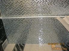 Мозаика на потолке в ванной, очень необычное решение