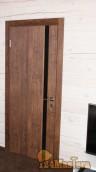 Двери Эстет в деревянном доме