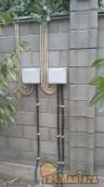 Слева соединительный короб для витой пары (интернет и виде...