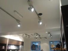 Замена электропроводки по электропроекту в магазине Gvani Batichelli