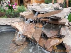 обустройство природным камнем водопады 297-89-53