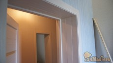 Как установить добр в 3 ряда, когда стена 40 см