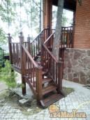 Лестница на фазенду.