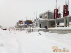 Строительство жилых домов в п. Новоангарск