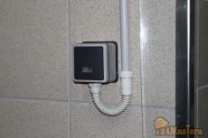 Установка выключателя со степенью защиты IP 66