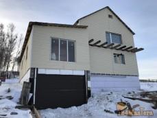 дом с баней и гараж