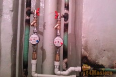 Установка радиаторов отопления, счетчиков расхода воды