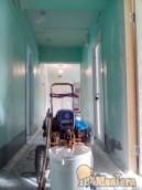 Ремонт поликлиники в онкологическом центре. Начало! 4900м2 покраски