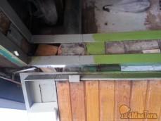 Левая сторона ворот нарощенные рамки ворот(косяки ворот)
