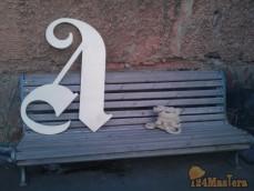 Буквы из толстой фанеры