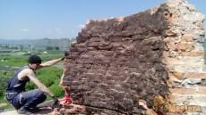 Демонтаж дымовой трубы 40 метров на ДОКе