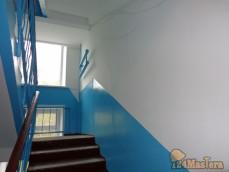Качественно выполненный ремонт подъезда, в 5 этажном жилом доме. Ул. Воронова.