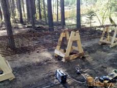 Изготовление армокаркасов под ленточный фундамент в Усть-М...