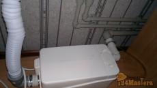 Перенос кухонной мойки с использованием сололифта.