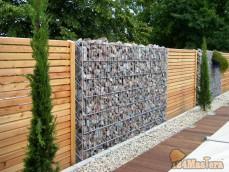 Можно для вас сделать вот такой красивый забор.