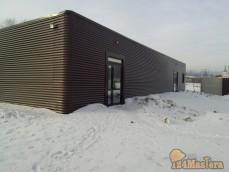 Монтаж панелей сппс павильон 24/6м гКрасноярск декабрь 201...