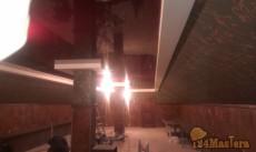 Потолок с колоннами площадь 78 кв.м.