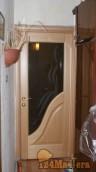 Луидор дверь со стеклом в спальную, ставил 2 года назад, наличник был прибивной, теперь по...