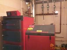 Монтаж атоматических котлов отопления