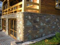 Обустройство природным камнем фундаменты домов 297-89-53
