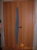 ФОТО Полуторная дверь 40+80см, очень удобно.