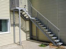 Металлическая лестница д.Минино