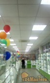 Отделка аптеки в центре Мира 60