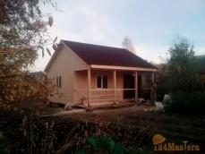 Строим дома от эконом класса до ваших фантазий.Данный дом каркасного типа,утепленный по с...