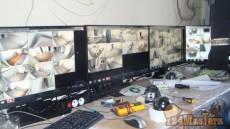 Монтаж охранной сигнализации и видеонаблюдения в режимных блоках СИЗО-6 (Сосновоборск)
