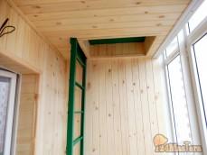 Обращаю ваше внимание, что отделка балконов производится п...