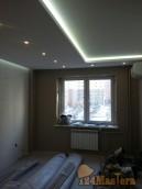 Ремонт в Покровском. Потолок из ГКЛ с подсветкой