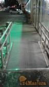 Противоскользящее резиновое покрытие GUMMI-рельеф для крыльца, ступенек, пандусов.