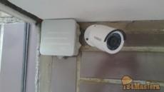 Монтаж камеры HiWAtch (hd-tvi)