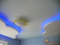 Потолок в детской