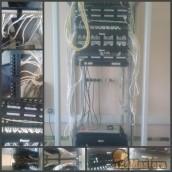 Монтаж и подключение IP-телфонии в Служебно-эксплутационно...