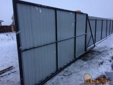 Ворота откатные установлены в НовоКузнецово