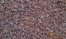 Щебень красный 40-70 мм